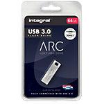 Clé USB Flash Integral ARC 64 Go Argenté