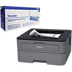Pack Imprimante  + Toner Laser Brother HL L2300D + TN 2320 USB, Réseau