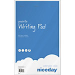 Bloc notes Niceday A4+ 160 Papier Blanc