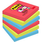 Notes repositionnables Post it Super Sticky 76 (H)  x  76 (l) mm 70 g