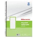 Cahier recyclé à spirales Office Depot A4 BP047 200 70 g