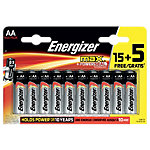 Piles Energizer Max AA 20