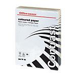 Ramette de papier couleur assorti panaché pastel intense de 250 feuilles   Office Depot   A4   160g