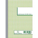 Manifold autocopiant quadrillé Exacompta Dupli A6 25 Pages