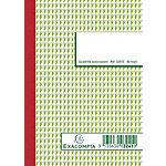 Manifold autocopiant Exacompta 3241E A6 150 Pages Vert