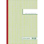 Manifold autocopiant Exacompta 3301E A4 150 Pages Vert