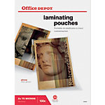 Pochettes de plastification 2 x 75 (150)  µm Office Depot A3 42,6 (H) x 30,3 (l) cm Transparent   100