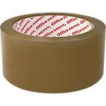 Ruban adhésif d'emballage Film BOPP, adhésif Office Depot 48mm (l) x 66m (L) 50 µm Marron   6