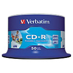 50 CD R   Verbatim   700 Mo