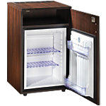 Réfrigérateur 60 L Merisier, blanc
