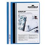 Chemise à lamelle DURABLE Duraplus A4 Bleu