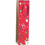 Sac cadeau Papier Noël Clairefontaine 40cm (H) x 10cm (l) Assortiment