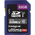 Carte SDHC Integral UltimaPro Bleu