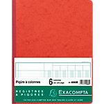 Registre Exacompta Registre à colonnes 80 Pages 110 g