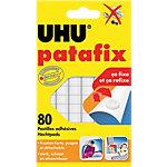 Pastilles adhésives UHU patafix     80 pastilles
