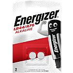 Pile bouton Energizer Alcaline LR44 2 Piles
