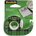 Dévidoir de ruban adhésif Scotch 19 (l) mm Magic Transparent