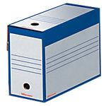 Boîtes d'archivage Office Depot 24,5 (H) x 16,7 (l) cm Bleu   25