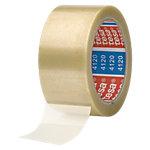 Ruban adhésif d'emballage PVC tesa 50mm (l) x 66m (L) 43 µm Transparent