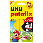 Pastilles de pâte adhésive repositionnable UHU Patafix     80 Pastilles