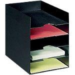 Bloc classeur 5 cases   Fast Paperflow   noir   25,8 x 32,5 x 31,8 cm