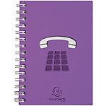 Répertoire téléphonique Exacompta Linicolor A4 192 Pages 90 g