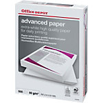 Ramette de papier de 500 feuilles   Office DEPOT   Advanced   A4   80 g