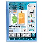 Album de présentation ELBA Polyvision Polypropylène 20 Pochettes A4 Bleu