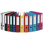 Classeur à levier Office Depot Plasticolor A4 75 mm Assortiment   10