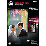 50 feuilles de papier photo   CR695A   HP   Premium Plus   10 x 15   300 g