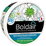 Gel destructeur d'odeurs Boldair Thé vert et Aloe Vera