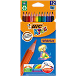 Crayons de couleur BIC Ecolutions™ Evolution Assortiment   12