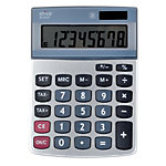 Calculatrice de bureau 8 chiffres   Office Depot   AT812ET