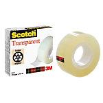 Ruban adhésif transparent Scotch 19mm (l) x 33m (L) 550