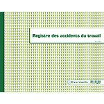Registre accident du travail Exacompta Accident de travail 24 x 32 cm