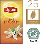 Sachets de thé Lipton Earl Grey Bergamote   25