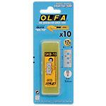 Lames de cutter OLFA 25 mm   10 Unités