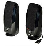Système de Haut Parleurs 2.0 Logitech S 150 Noir   2 hauts parleurs