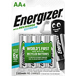 Pile rechargeable Energizer Rechargeables AA AA 1.2 V   4