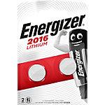 Pile bouton Energizer Lithium CR2016 2 Unités