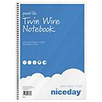 Bloc notes à spirales Niceday A4 100 60 g