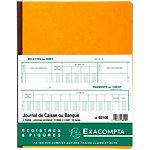 Journal de caisse ou banque Exacompta Journal de caisse ou banque 80 Pages