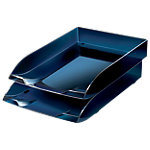 Corbeille à courrier Office Depot Corbeille à courrier 1114720981 Bleu nuit