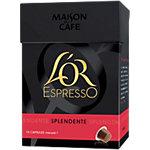 Capsules de café L'OR EspressO Intensité 7   10