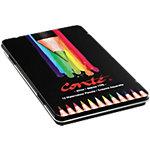 Crayons de couleur aquarellable BIC Conté   12