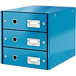 Module de classement Leitz Click&Store 28,2 (H) x 28,6 (l) x 35,8 (P) cm Bleu