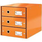 Module de classement Leitz Click&Store 28,2 (H) x 28,6 (l) x 35,8 (P) cm Orange
