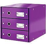 Module de classement Leitz Click&Store 28,2 (H) x 28,6 (l) x 35,8 (P) cm Violet