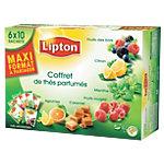Coffret thé aromatisé Lipton Assortiment   60