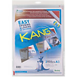 Pochettes d'affichage adhésives repositionnables Tarifold Kang Easy Clip A3    2